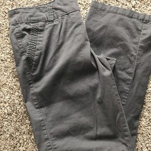Gray khakis from Maurice's 9/10 short